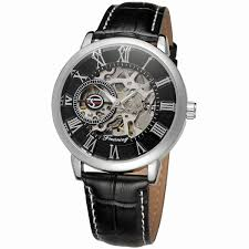 2016 automatic watch military style crystal western watches 2016 automatic watch military style crystal western watches leather bands watches whole in