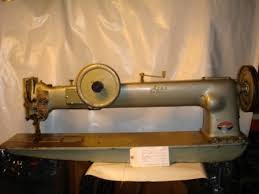 TU33 2 Double Needle Walking Foot Sewing Machine 30