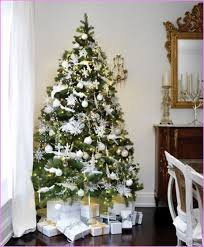 Awesome Silver And Gold Christmas Tree Decorations Part - 10: Christmas  Tree Decorations Silver 11