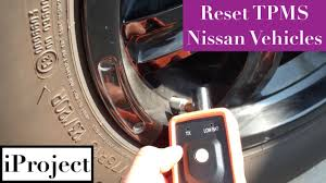 2008 Nissan Sentra Reset Tire Pressure Light Resetting Tpms For Nissan Vehicles With Universal Tool