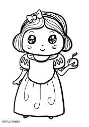 Disegni Di Biancaneve Da Stampare E Colorare Gratis Portale Bambini