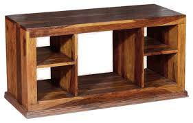 tall wood tv stand. dallas contemporary solid hardwood open back tv stand media console entertainment-centers-and- tall wood tv o