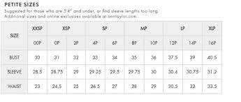 Loft Jeans Size Chart Petite Size Chart Every Petite Girl Should Understand