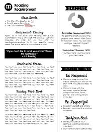 Customizable Syllabus Templates Updated Hello Teacher Lady
