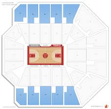 Liacouras Center Seating Chart Liacouras Center Temple Seating Guide Rateyourseats Com
