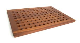 furniture excellent solid teak grate bath shower mat patio furniture world wood bathroom australia canada
