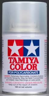 Tamiya Color Ps 58 Pearl Clear Polycarbonate Spray Paint 3 4oz 86058
