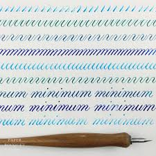 alphabet practice paper shades of blue calligraphy drill practice paper bouquet studio