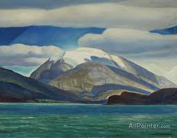 rockwell kent paintings for tierra del fuego south america dome mountain