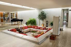 Picturesque Square Living Room Layout Design Ideas : Brilliant Square  Living Room Layout Ideas for Small Space with Square Shaped White Sofa and  Wo