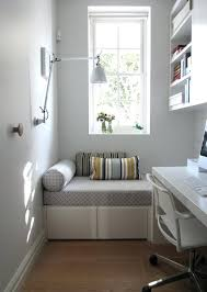 gallery small home office white. Office Decor Ideas View In Gallery Home Decoration A White Small Bedroom