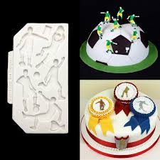 Cake Decorating Accessories Wholesale Online Shop Wholesale 100 Pcslot Football Shape Cake Side 1000 49