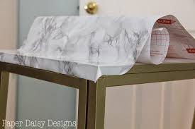 covering furniture with contact paper. Even Taking Great Care, I Didn\u0027t Get The Paper On Table Perfectly  Straight. Just Go Nice And Slow, Smooth As You Go. You Must Avoid Any Bubbles. Covering Furniture With Contact