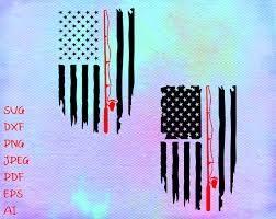 Free transparent fish vectors and icons in svg format. Fishing Distressed American Flag Svg Flag Fishing Rod Svg Etsy Fishing Svg Arm Tattoos For Guys Fisherman Gifts