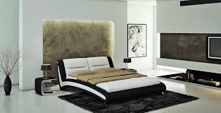 Black And White Bedroom Theme Via Modern Furniture LA Furniture Blog Interesting Black And White Modern Bedroom Decor Collection