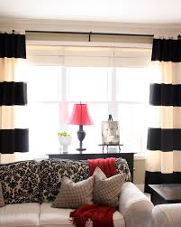 Striped Bedroom Curtains Diy Vertical Striped Curtains Free Image