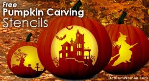 Pumpkin Carving Pattern Magnificent Free Pumpkin Carving Patterns Stencils For Scary Not So Scary