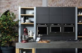 kitchenaid black stainless. home appliances brand kitchenaid has launched what it claims is the uk\u0027s first full kitchen range in brushed black stainless steel. kitchenaid