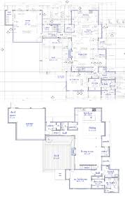 modern house plans by gregory la vardera architect 0751 rs house nj version vs the two story plan version