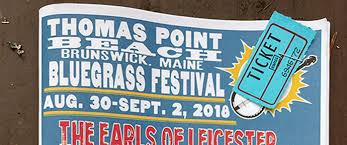 Thomas Point Beach Bluegrass Festival Day 1 Bluegrass Today