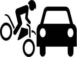 Resultado de imagem para colisao entre carro e moto foto ilustrativa