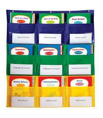 51 Bright Classroom Pocket Charts
