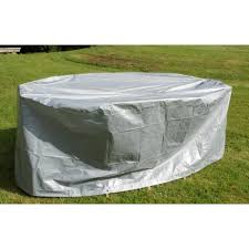 Housse table ovale et chaises grise - Achat / Vente housse meuble ...