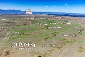 Location Of Old West Ranch Colorado Springs Falcon Peyton Colorado