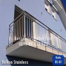 Hasil gambar untuk model pagar besi dan stainless minimalis