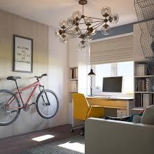 Идея для <b>компактного</b> хранения велосипеда в маленькой ...