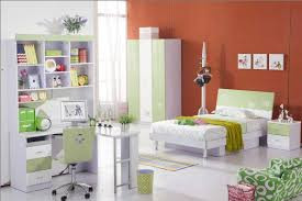 Endearing Modern Bedroom Furniture For Kids With Blue Paint Walls ...