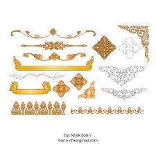 All Free Download Vector Design Kbach Khmer Angkor Vector Khmer Frame Free Vector Vectorkh