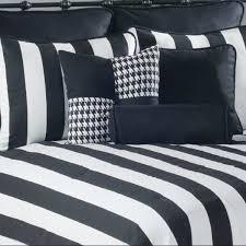 twin xl bedding black and white city stripe xl duvet cover set bonus insert free