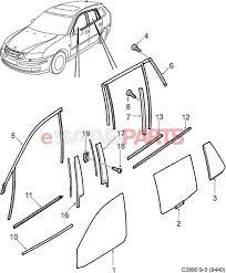 esaabparts com saab 9 3 9440 car external parts glass windshield side window glass decor 5d