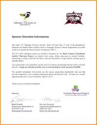 Request For Sponsorship Template Mutual Agreement Template