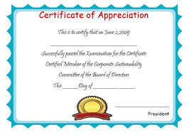 free templates for certificates of appreciation 50 professional free certificate of appreciation templates for