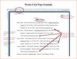 How To Cite Research Paper Example Of Citation In Samples Works