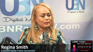 Humanitarian and Retired Dallas Police Lieutenant - Regina Smith on LARRY  YATES AS IS - YouTube