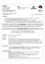 Linux System Engineer Resume Exchange Server Administrator Resume