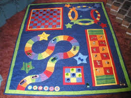 142 best Quilt Guild games & ideals images on Pinterest   Paint ... & Quilting: MomMom's Game Quilt Adamdwight.com