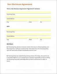 Mutual Confidentiality Agreement Confidentiality Agreement Form Sample Non Disclosure Template 66