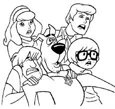 Small Picture 87 best scooby doo coloring pages images on Pinterest Scooby doo