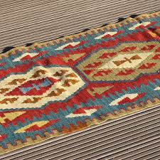picture of 2 0 x 6 5 short turkish kilim runner