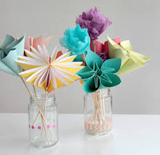 Paper Crafted Flowers Paper Crafted Flowers Barca Fontanacountryinn Com