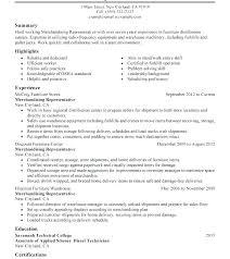 Merchandising Resume Excellent Resume Retail Merchandiser Resume Fashion Merchandising