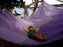 Huge hammock in the BVI's