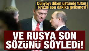 Rusya doğal gaz için son sözünü söyledi! Avrupa diken üstünde - Ekonomi  Haberleri