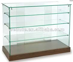 fancy design glass display shelves stunning decoration showcase throughout remodel 19