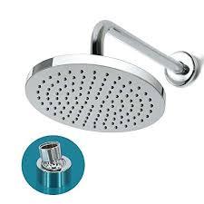 terrific swivel shower head shower head 8 inch high pressure rainfall shower spray fixed mount with