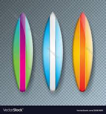 Surfboard Design Contest With Colorful Surf Board